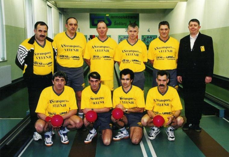 Ekipa Šoštanja leta 1995